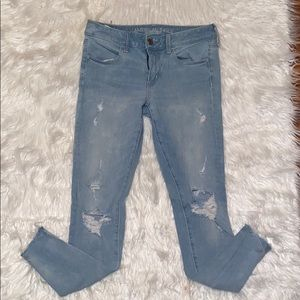 American eagle distressed jeans ❤️